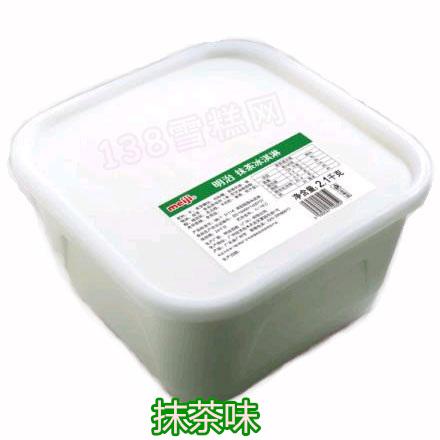明治meiji桶装冰淇淋